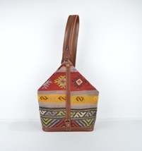 Unusual Backpack-Kilim Backpack-Ethnic Tribal Bag-colourful Backpack-Car... - $159.00