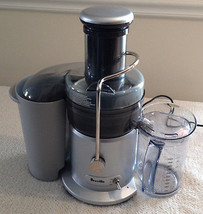 Breville Jucie Fountain Juicer Gray Model JE98XL 850 Watt - $149.99