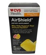 AirShield CVS Health Immune System 32 Chewable Tablets citrus flavor   0... - $9.80