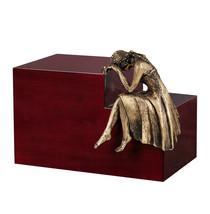 Unique Artistic Urn Nostalgia Cremation Urn Funeral urn For Adult .Angel urn UK - $201.19