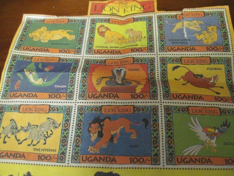 Fun Paper Ads some vintage! Disney Lion King stamps Mulan Hersheys Dinosaurs etc
