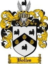 Bolles Family Crest / Coat of Arms JPG or PDF Image Download - $6.99