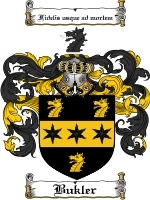 Primary image for Bukler Family Crest / Coat of Arms JPG or PDF Image Download