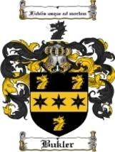 Bukler Family Crest / Coat of Arms JPG or PDF Image Download - $6.99