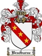 Bradburne Family Crest / Coat of Arms JPG or PDF Image Download - $6.99