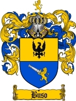 Primary image for Buso Family Crest / Coat of Arms JPG or PDF Image Download