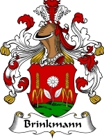 Primary image for Brinkmann Family Crest / Coat of Arms JPG or PDF Image Download