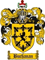 Primary image for Buchanan Family Crest / Coat of Arms JPG or PDF Image Download
