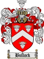 Primary image for Bullock Family Crest / Coat of Arms JPG or PDF Image Download