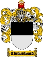Primary image for Clinkenbeard Family Crest / Coat of Arms JPG or PDF Image Download