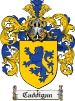 Primary image for Caddigan Family Crest / Coat of Arms JPG or PDF Image Download