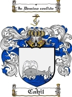 Primary image for Cahil Family Crest / Coat of Arms JPG or PDF Image Download