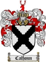 Calhoun Family Crest / Coat of Arms JPG or PDF Image Download - $6.99