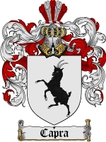 Primary image for Capra Family Crest / Coat of Arms JPG or PDF Image Download