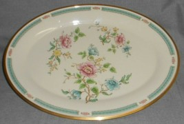 """Lenox MORNING BLOSSOM PATTERN Large 16"""" Oval Turkey or Meat Platter MADE... - $89.09"""