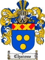 Primary image for Charone Family Crest / Coat of Arms JPG or PDF Image Download