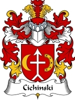 Primary image for Cichinski Family Crest / Coat of Arms JPG or PDF Image Download