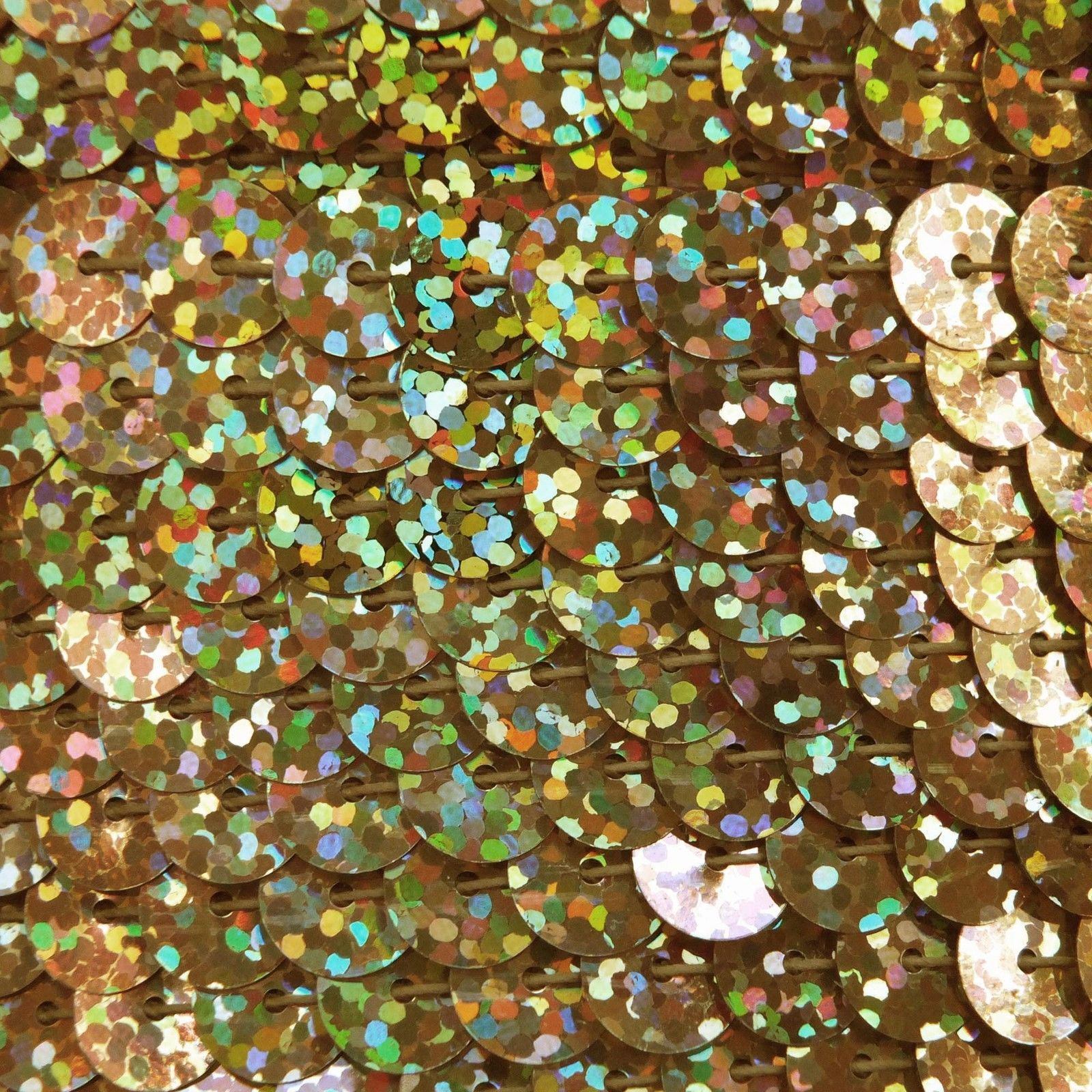 3mm Flat SEQUIN PAILLETTES ~ PINK Laser Hologram Metallic ~ Made in USA