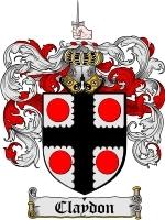 Claydon coat of arms download