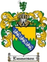 Emmerson Family Crest / Coat of Arms JPG or PDF Image Download - $6.99