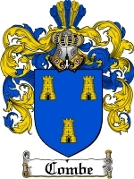Primary image for Combe Family Crest / Coat of Arms JPG or PDF Image Download
