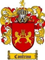 Primary image for Contrino Family Crest / Coat of Arms JPG or PDF Image Download