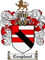Primary image for Coupland Family Crest / Coat of Arms JPG or PDF Image Download
