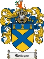 Primary image for Cowper Family Crest / Coat of Arms JPG or PDF Image Download