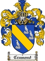 Primary image for Cramond Family Crest / Coat of Arms JPG or PDF Image Download