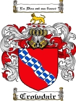 Primary image for Crowdair Family Crest / Coat of Arms JPG or PDF Image Download