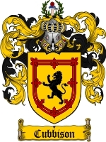 Primary image for Cubbison Family Crest / Coat of Arms JPG or PDF Image Download