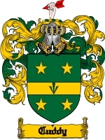 Primary image for Cuddy Family Crest / Coat of Arms JPG or PDF Image Download