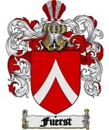 Fuerst Family Crest / Coat of Arms JPG or PDF I... - $6.99