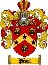 Pearl Family Crest / Coat of Arms JPG or PDF Image Download - $6.99