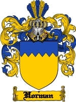 Horman Family Crest / Coat of Arms JPG or PDF Image Download