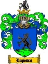 Lupescu Family Crest / Coat of Arms JPG or PDF Image Download - $6.99