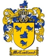 Mccastland Family Crest / Coat of Arms JPG or P... - $6.99