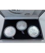 U.S. Mint American Eagle 20th Anniversary Silver Coin Set (greysafe) w/COA - $399.99