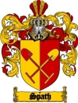 Spath Family Crest / Coat of Arms JPG or PDF Image Download - $6.99