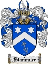 Stammler Family Crest / Coat of Arms JPG or PDF Image Download - $6.99
