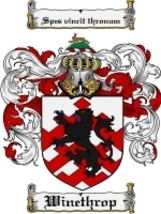 Winethrop Family Crest / Coat of Arms JPG or PDF Image Download - $6.99