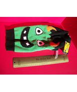 SimplyDog Pet Clothes Medium Halloween Holiday Dog Green Monster Sweater... - $7.59