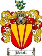 Bokett Family Crest / Coat of Arms JPG or PDF Image Download - $6.99