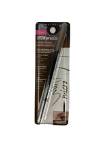 Maybelline Brow Precise Micro Pencil & Grooming Brush Soft Brown #255 NEW - $4.49