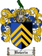Bowrin Family Crest / Coat of Arms JPG or PDF Image Download - $6.99