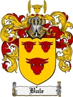 Primary image for Bule Family Crest / Coat of Arms JPG or PDF Image Download