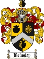 Primary image for Brinsley Family Crest / Coat of Arms JPG or PDF Image Download