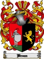 Primary image for Brum Family Crest / Coat of Arms JPG or PDF Image Download