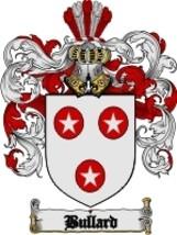 Bullard Family Crest / Coat of Arms JPG or PDF Image Download - $6.99
