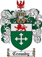 Cromby Family Crest / Coat of Arms JPG or PDF Image Download